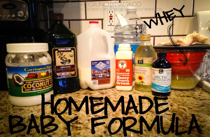 Homemade Baby Formula - by EarthyCrunchyMama
